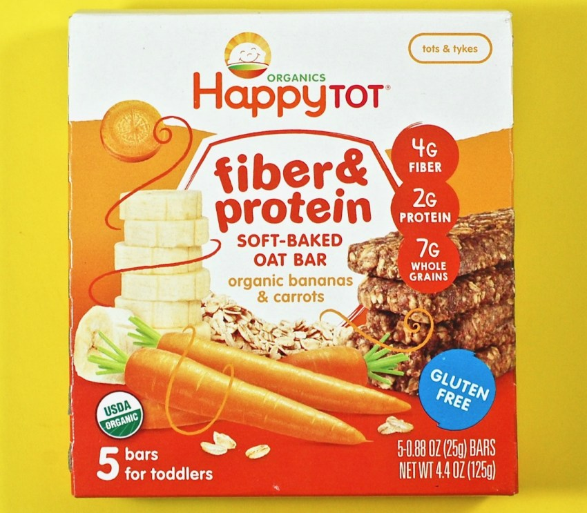 Happy Tot fiber & protein bars