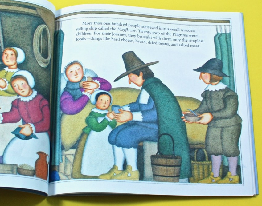 Pilgrims children's book