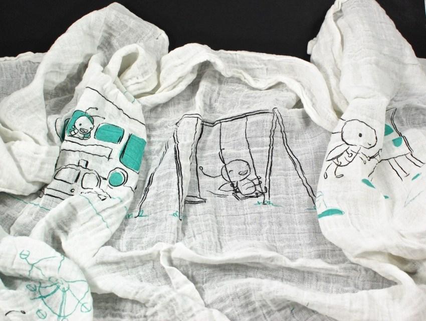Cricket Crate blanket