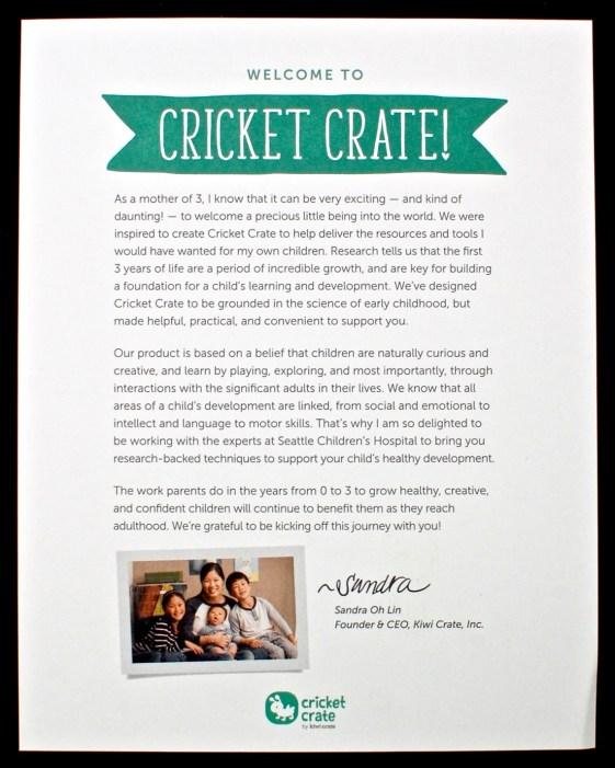 Cricket Crate box