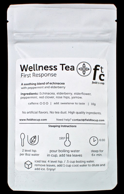wellness tea first response