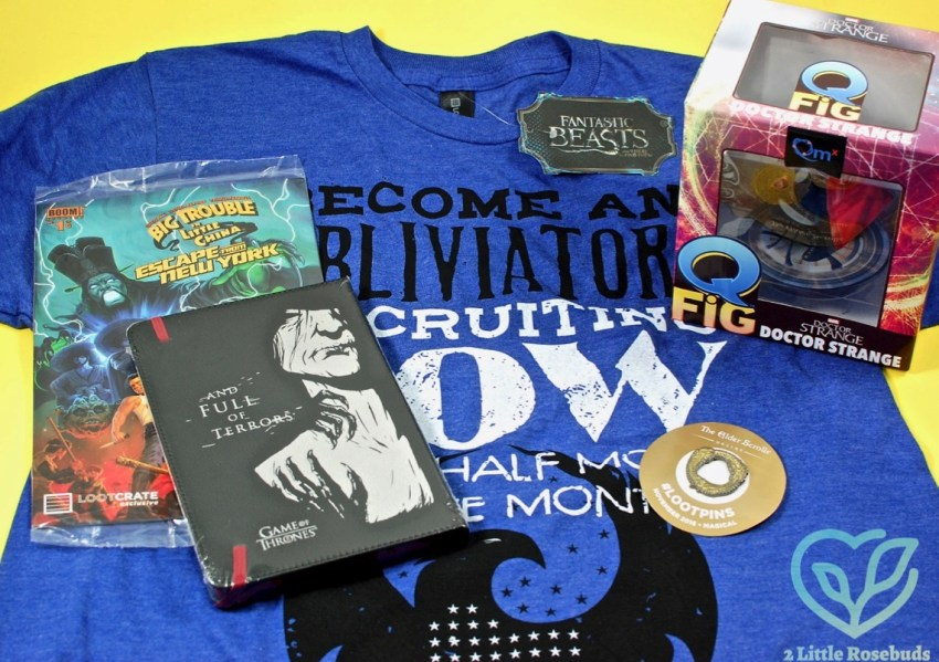 "Loot Crate November 2016 ""Magical"" Subscription Box Review & Coupon Code"