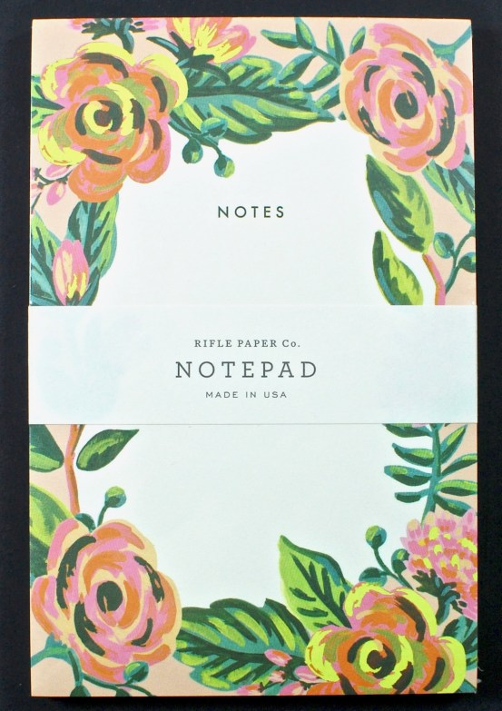 Rifle Paper co. pad