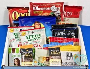 SnackSack November 2016 Subscription Box Review & Coupon Code