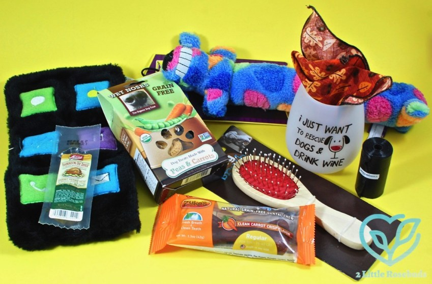 Wigglebutt Box November 2016 Dog Subscription Box Review