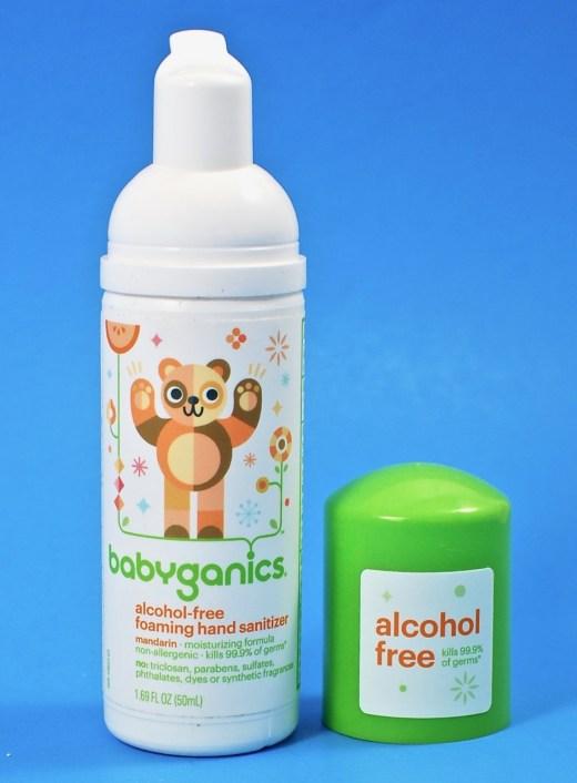 Babyganics sanitizer