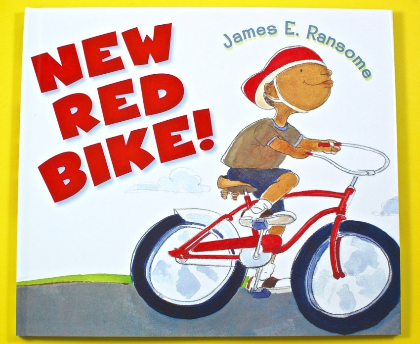 New Red Bike book
