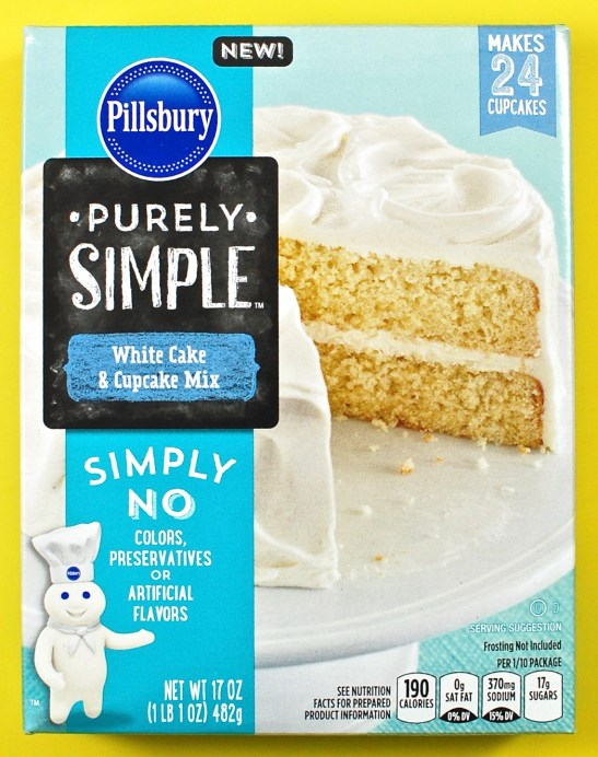 Pillsbury cake mix