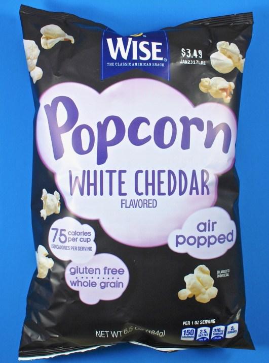 Wise cheddar popcorn