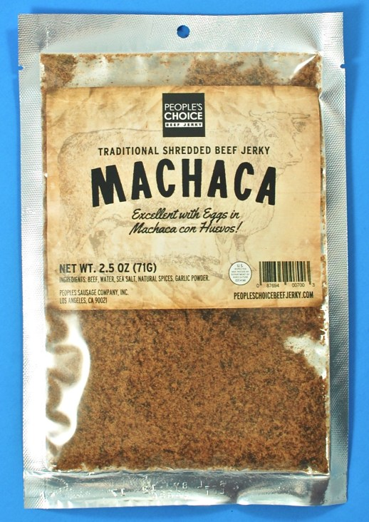People's Choice jerky machaca