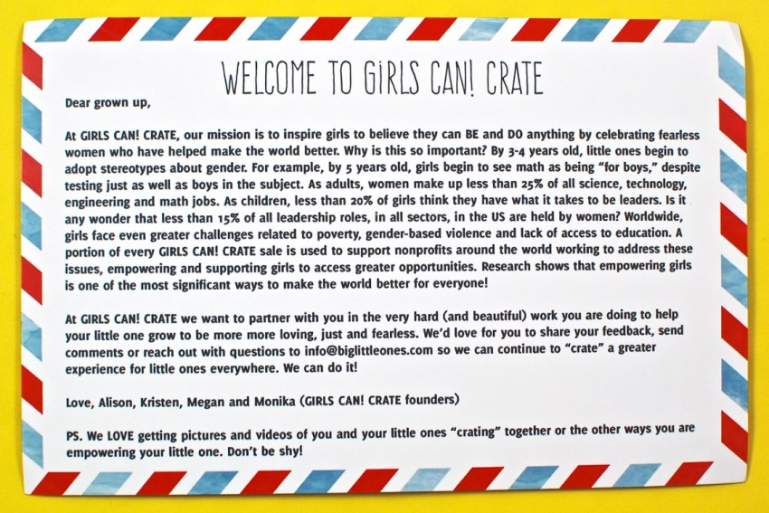 Girls Can Crate review
