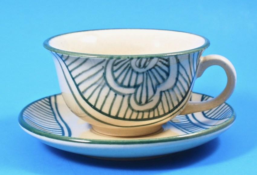 GlobeIn cup & saucer