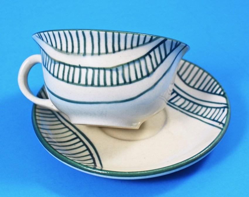 GlobeIn ceramic cup