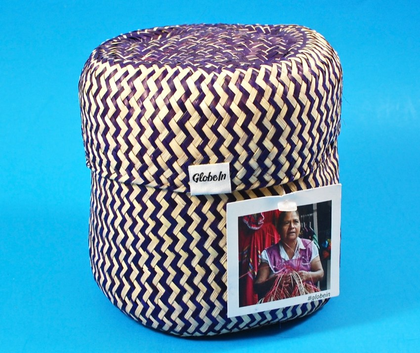 GlobeIn palm leaf basket