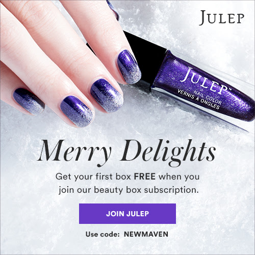 Julep FREE 3-Piece Holiday Welcome Box with Subscription