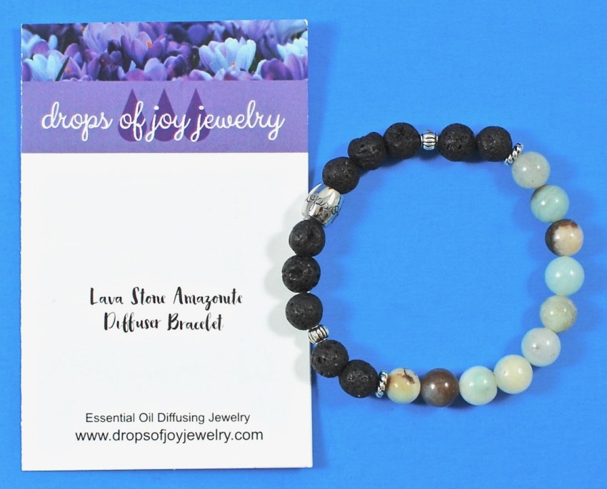 Drops of Joy diffuser bracelet