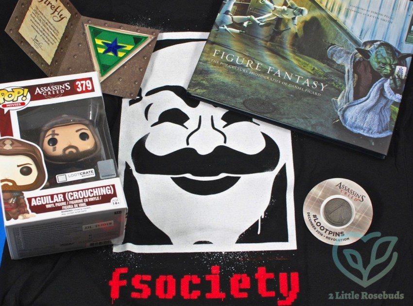 "Loot Crate December 2016 ""Revolution"" Subscription Box Review & Coupon Code"