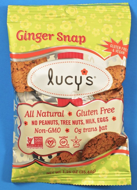 Lucy's ginger snaps