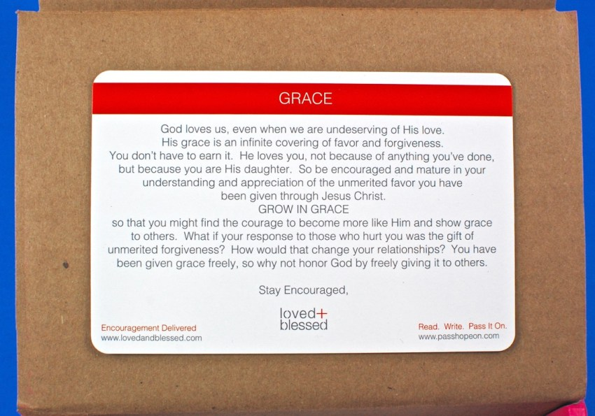 Loved and Blessed box review