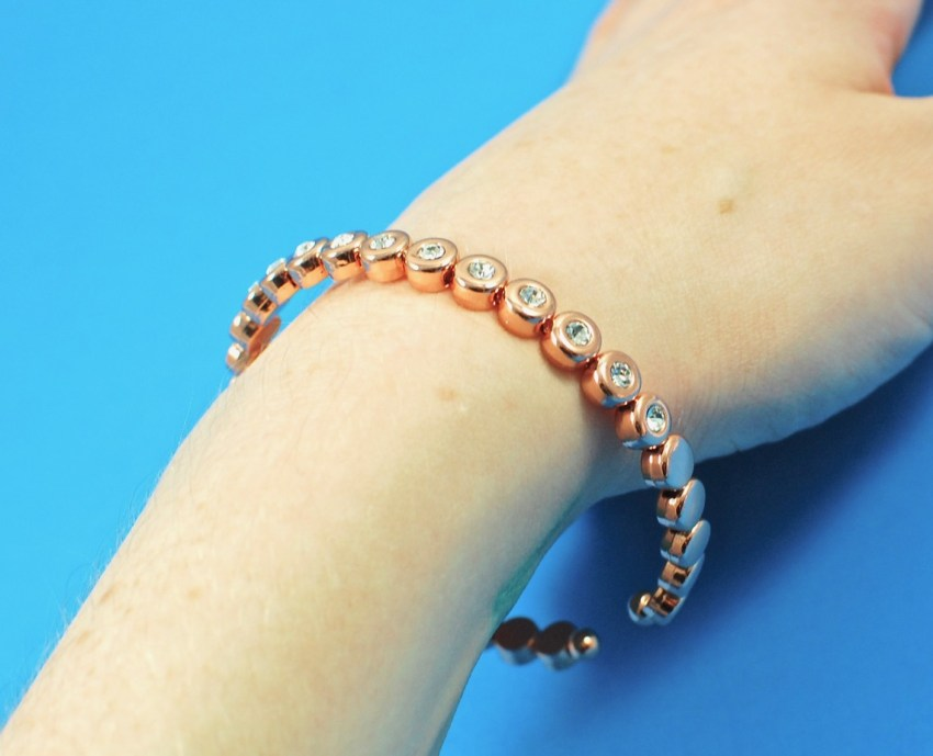 Olive + Piper rose gold bracelet