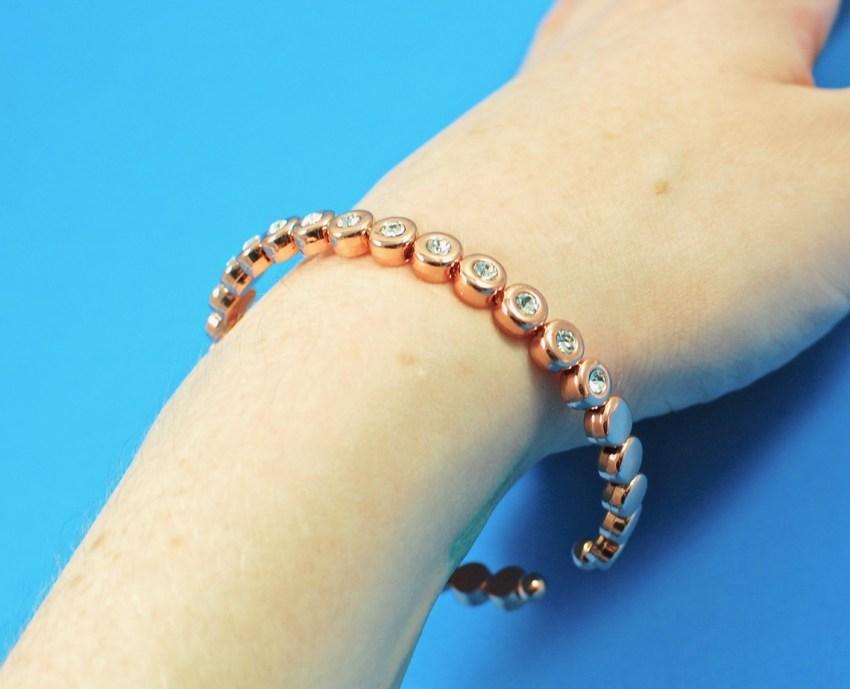 Olive + Piper rose gold bracelet