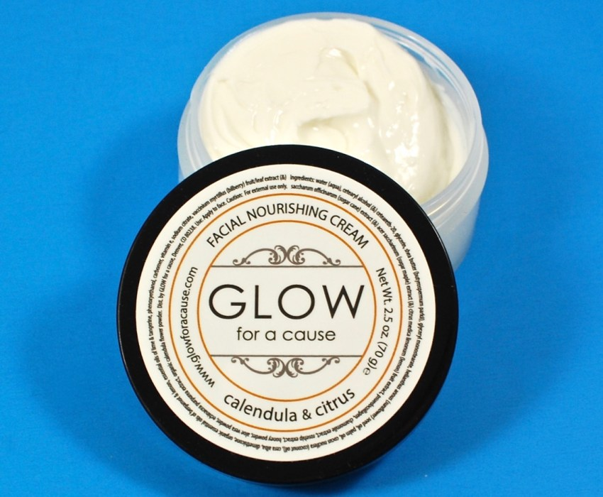 Glow for a Cause facial cream