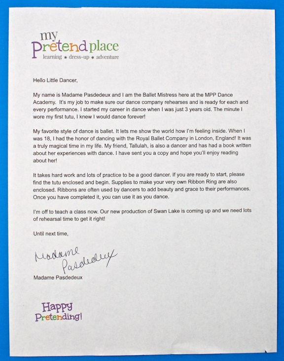 My Pretend Place review