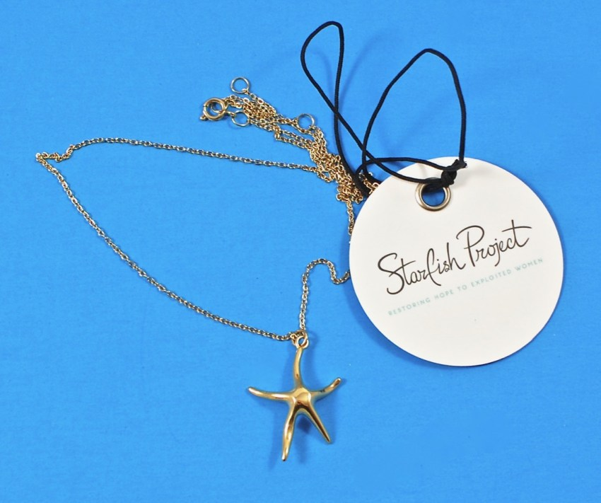 Starfish Project necklace