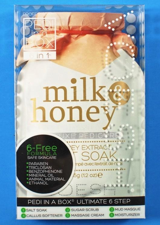 Milk & Honey pedi set
