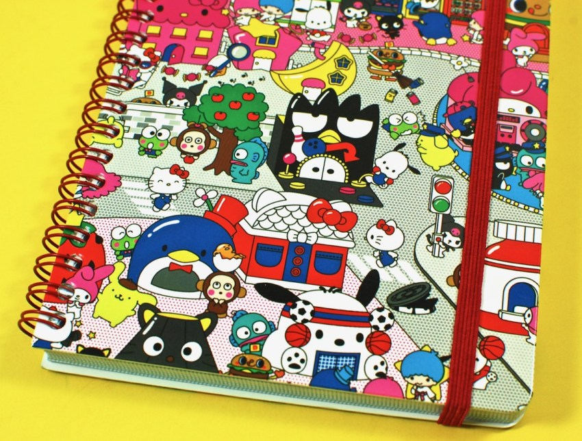 Sanrio Small Gift Crate notebook