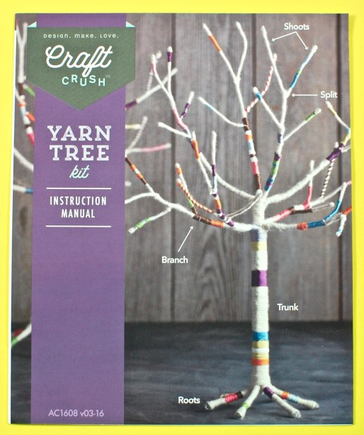 Craft Crush yarn tree