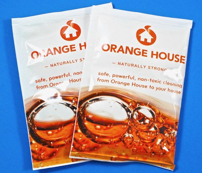 Orange House laundry detergent
