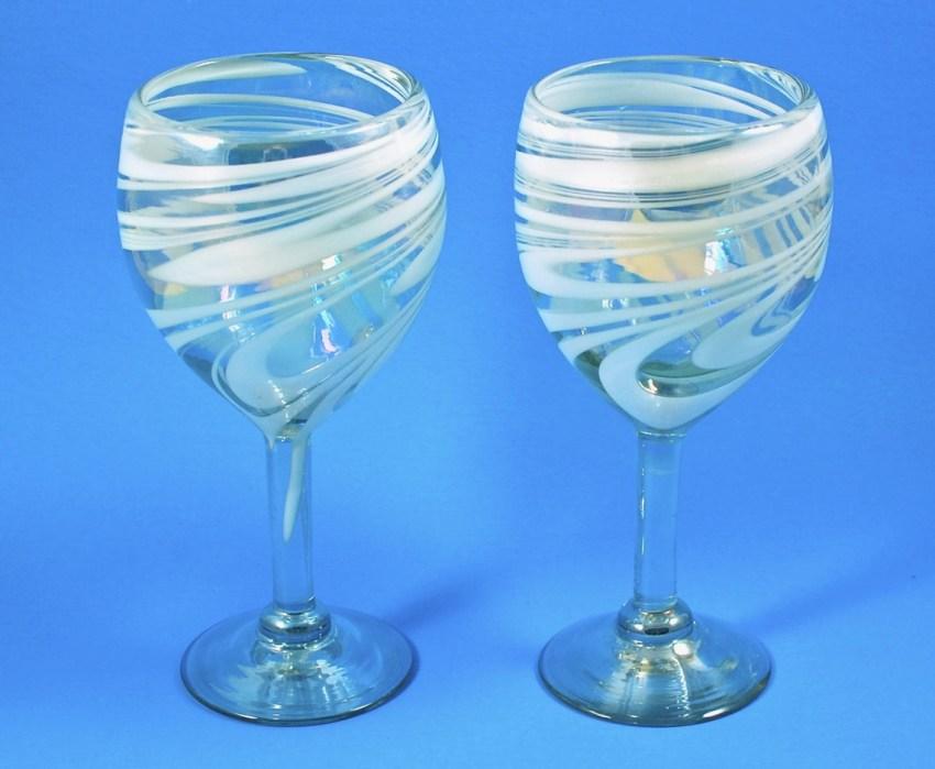 GlobeIn wine glasses