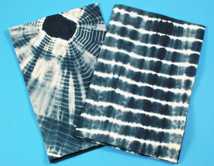 Shibori napkin set
