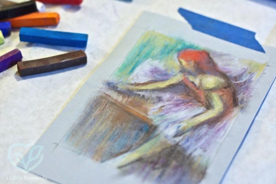 December 2016 Indigo Artbox review