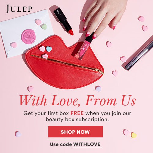 Julep FREE 3-Piece Valentine's Day Inspired Box with Subscription