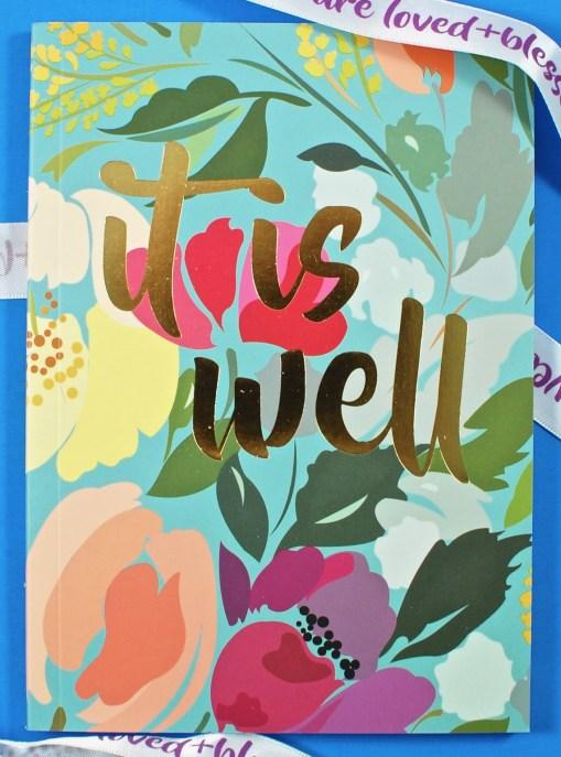 Loved + Blessed journal