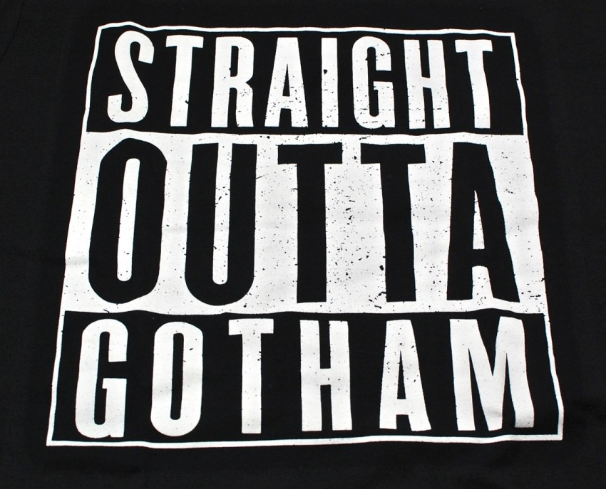Straight Outta Gotham shirt