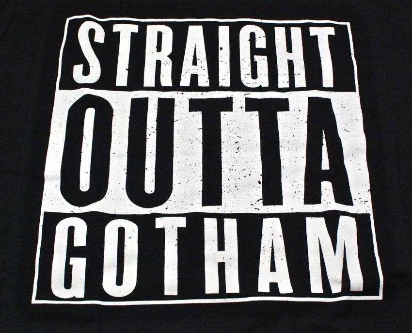 Straight Outta Gotham shirt