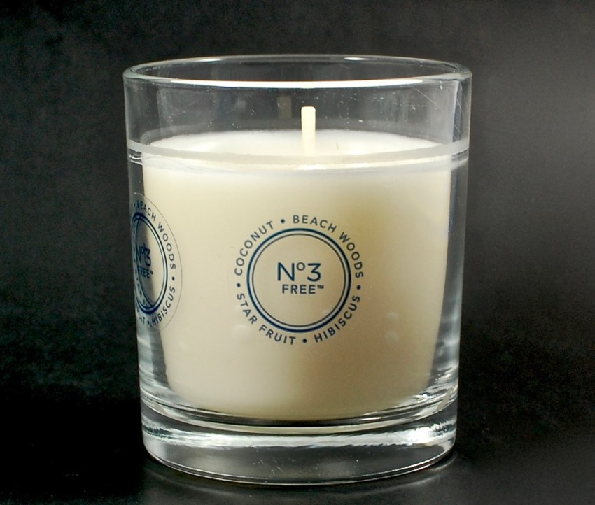 glade beach woods candle