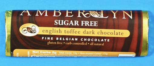 Amber Lyn sugar free chocolate