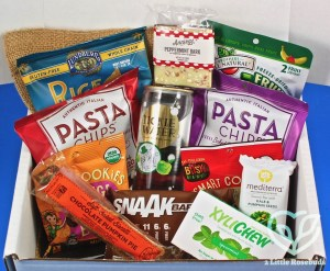 December 2016 SnackSack review