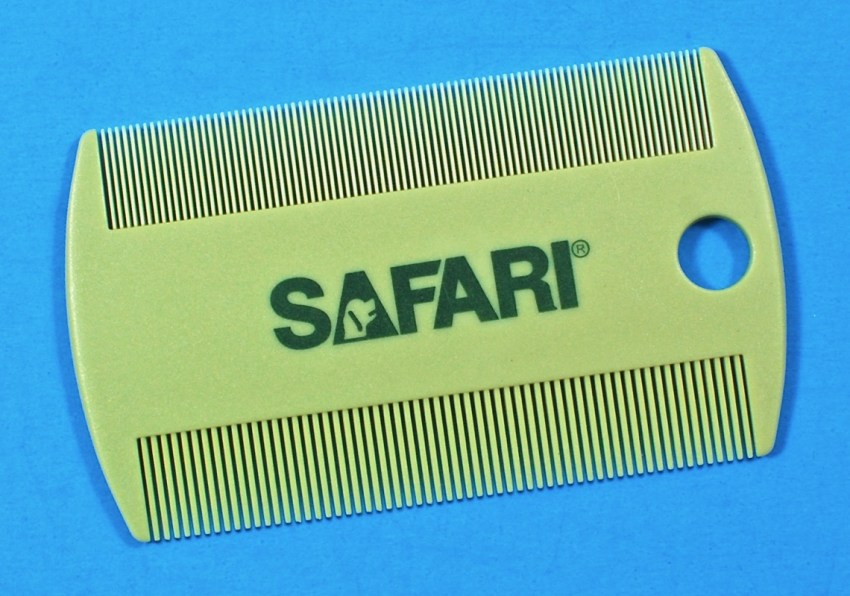 Safari flea comb