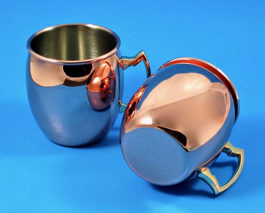 Brouk & Co Moscow mule mugs