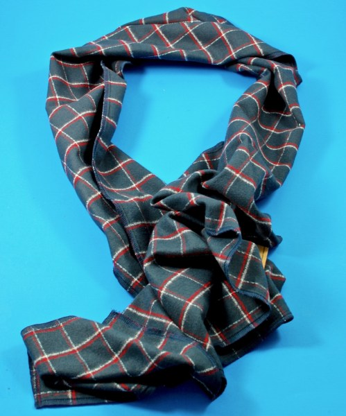 Mill City Fineries plaid scarf