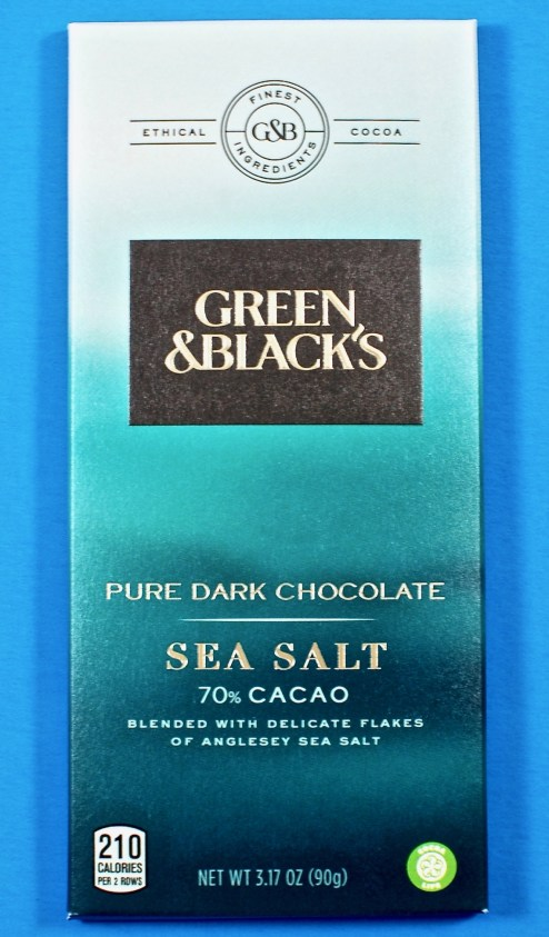 Green & Black's sea salt bar