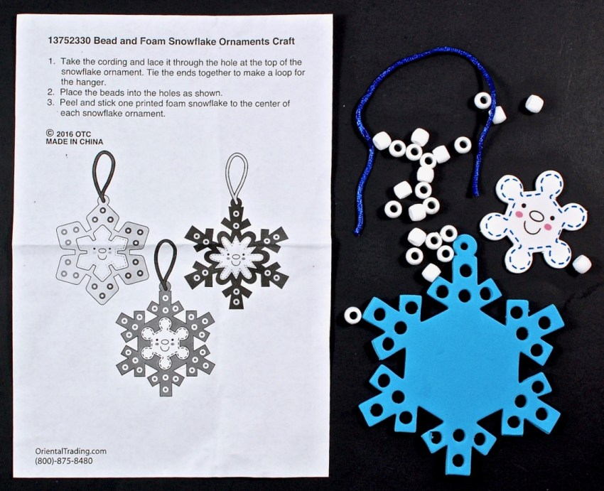 snowflake ornament craft