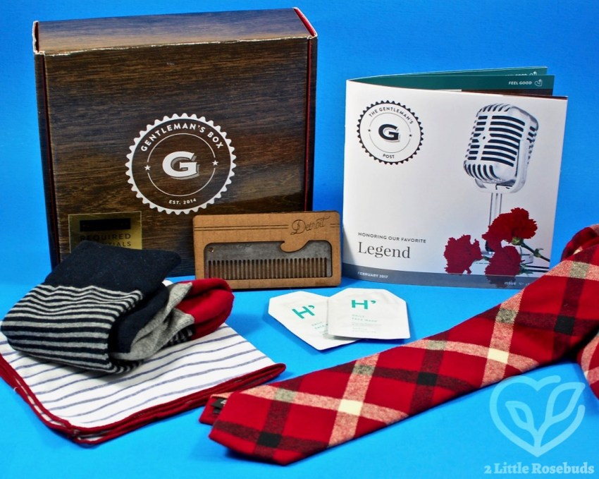 Gentleman's Box February 2017 Subscription Box Review & Coupon Code
