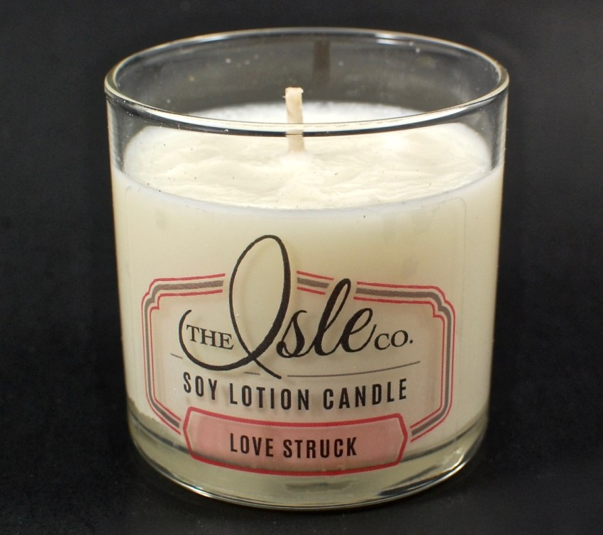 The Isle Co. lotion candle