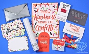 Loved + Blessed February 2017 Box of Encouragement Review
